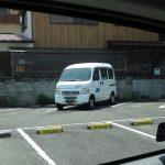 「WILLビル」と表記されているスペースが駐車場です